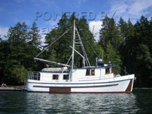 Converted Trawler 42ft (Yacht converted from commercial seiner)