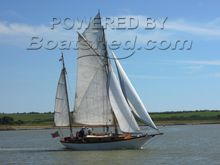 Alan Buchanan 32 Gaff Rigged Yawl