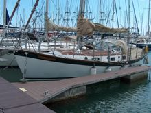Robert Tucker Cordingley 32 Steel Sailing Yacht (Comm. 1999)