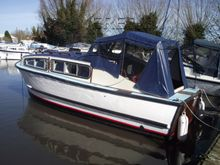 Wooden  Motor Cruiser 24' By Compass Craft