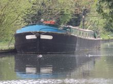 "Barge Wide Beam Rare Leeds & Liverpool Short Boat ""The Arthur"""