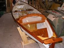 Thames Rowing Skiff Traditional Build