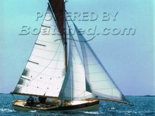 Classic Gaff Rigged 22 Mevagissey Tosher