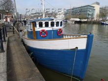 Wooden  Danish Trawler