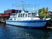 Custom 41 Aluminum Trawler Semi Displacement