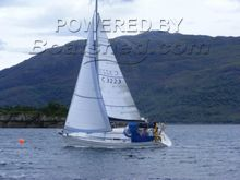 Bavaria 31 Single handed sailing