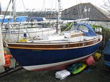 Rossiter Yachts Curlew Sloop Long keel Bilge Fins