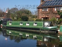 Narrowboat 52ft Cruiser Stern One owner from new
