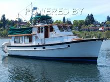 Bluewater 40 Trawler Pilothouse and Twin Lehmans