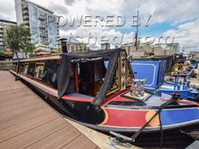 Narrowboat 50ft with London mooring
