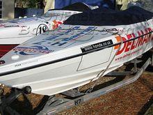 Cougar Honda 150 Race Boat
