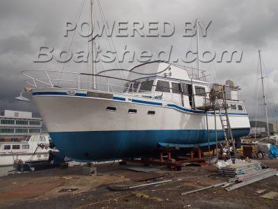 Steel Trawler Yacht 44