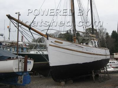Wooden  Gaff Rigged Ketch Project