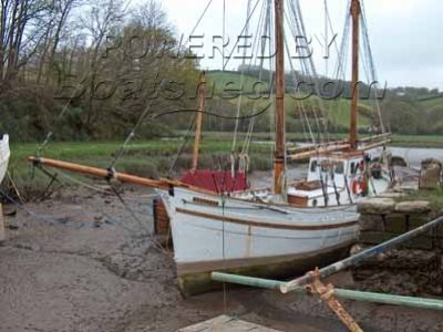 Motor Fishing Vessel Gaff Ketch