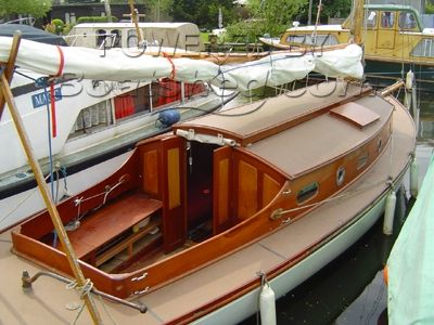 Traditional Broads Sail Cruiser