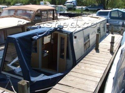Sea Otter 31 Aluminium Canal Cruiser
