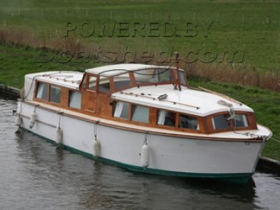 Wooden  Broads Cruiser