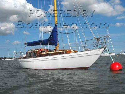 Laurent Giles Bermudan Sloop Classic Yacht