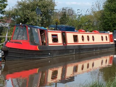 Traditional style narrow boat