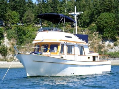 CHB Puget Trawler 34