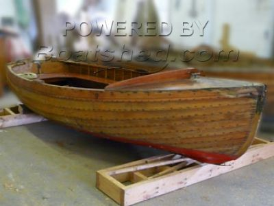 Wooden  Sailing Dinghy 12'