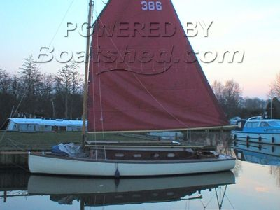 Japonica Traditional Broads Sail Boat
