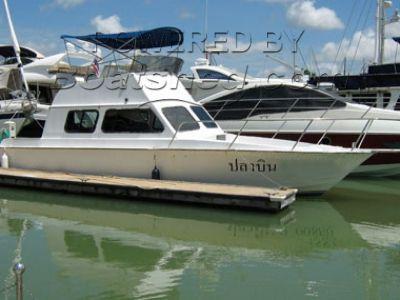 GRP Dive Boat