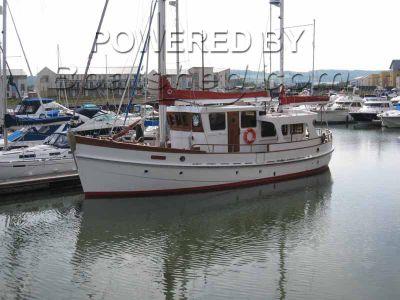 Wooden  Trawler Yacht 50