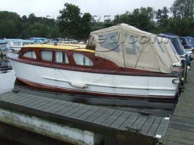 Wooden  Broads Cruiser