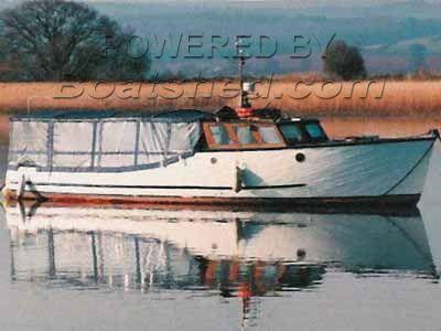 Classic Wooden Passenger Ferry