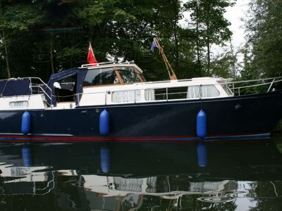 Kempala 30 Aft Cabin Steel Motor Boat