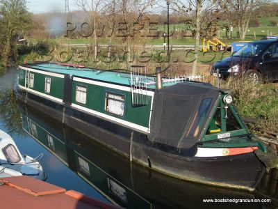 Narrowboat 55ft Trad Stern Barry Hawkins Fit Out