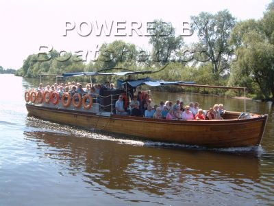 Wooden  Commercial 50 Passenger ferry