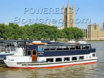 Passenger Vessel River Cruiser Class V, C Waters 19m