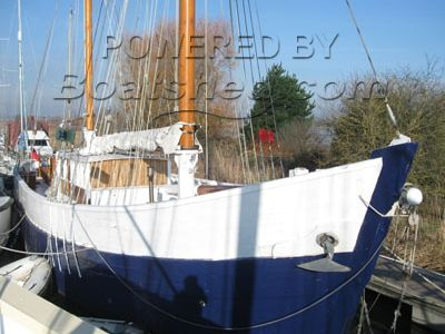 Wooden  MFV  Ketch conversion