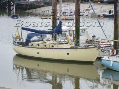 Wallasey Bay Ocean 36  Classic wooden sloop