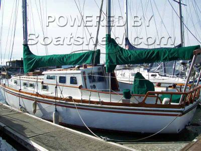 Cascade 42 Pilothouse Ketch