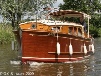 Wooden  Broads Cruiser Moore and Sons 22 foot
