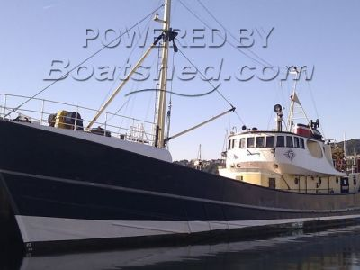 Converted Trawler Corporate charter vessel