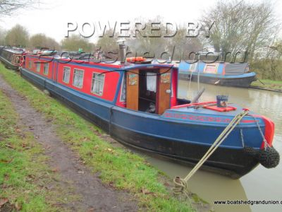 Narrowboat 60ft Cruiser Stern Pinder
