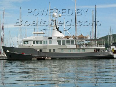 Expedition Yacht Converted Baltic Tug