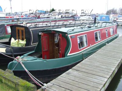 Narrowboat 40ft