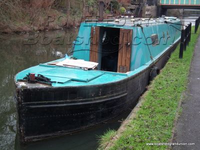 Narrowboat 70ft Ex Birmingham Workboat - Project