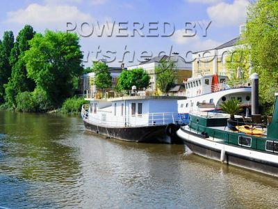 Houseboat Thames Lighter Barge