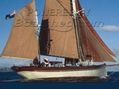 Brixham Sailing Trawler Yacht
