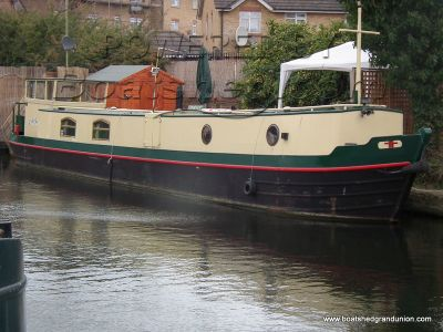 Narrowboat 52ft Dutch Barge Style With Mooring