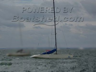 Harley Race Boats Continental One Design Open racing keelboat