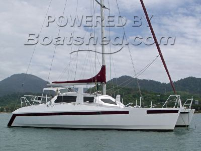 Owen Easton 42 Aluminium Catamaran