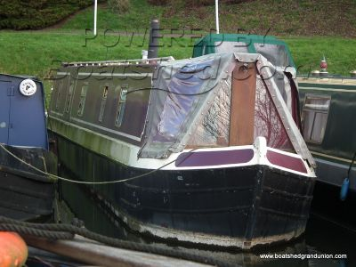 Narrowboat 58ft Reverse Layout Cruiser Stern