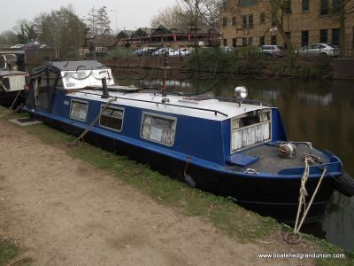 Narrowboat 33ft  Nautical fit out